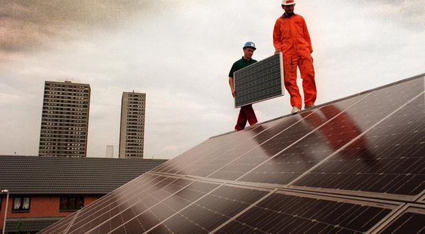 About 100,000 households will receive panels in the next 18 months