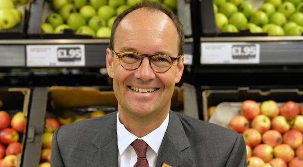 Sainsbury's chief executive Mike Coupe has warned about the effect of tough customs controls on EU goods after Britain leaves (Sainsbury's/PA)