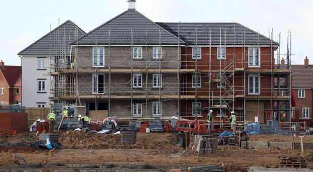 Figures indicate a slowdown for the construction industry