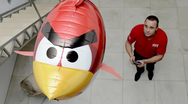 The Angry Birds game became a global phenomenon