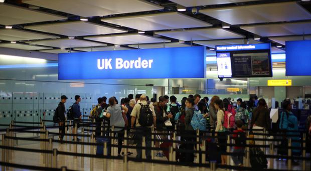 The leaked document proposes an end to free movement after Brexit