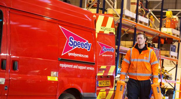 Picture of Speedy Hire worker