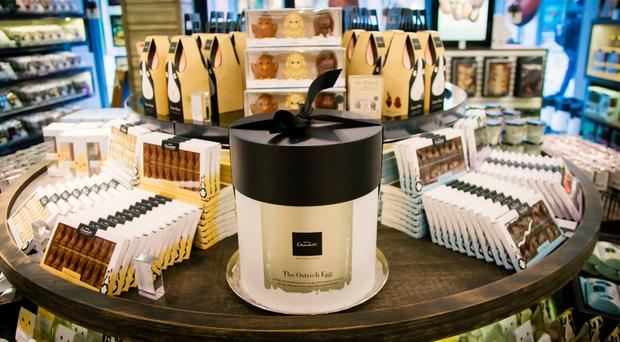 Hotel Chocolat's shop at Belfast's Victoria Square