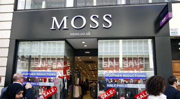 Moss Bros results