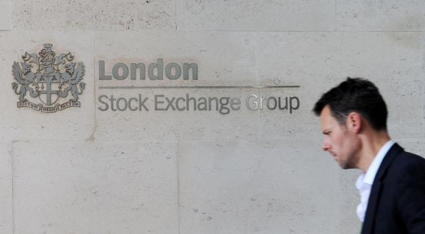 London Stock Exchange headquarters, as weak pound gives blue-chip stocks a boost on FTSE 100 Index