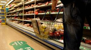 A person shopping, as it is understood that seafood brand Young's has been put up for sale (PA).