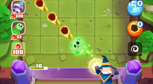 Gram Games is known for titles including Bounzy! (Gram/PA)