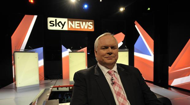 Sky News presenter Adam Boulton (PA)