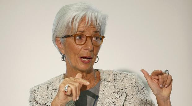 Christine Lagarde, Managing Director of the International Monetary Fund (IMF) (PA)