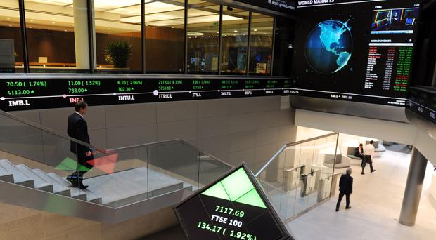London Stock Exchange (PA)