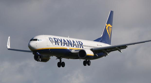 'Ryanair said it offered a new meeting with the union on January 5 after the first planned talks were cancelled at short notice in a row over who would be attending' (stock photo)
