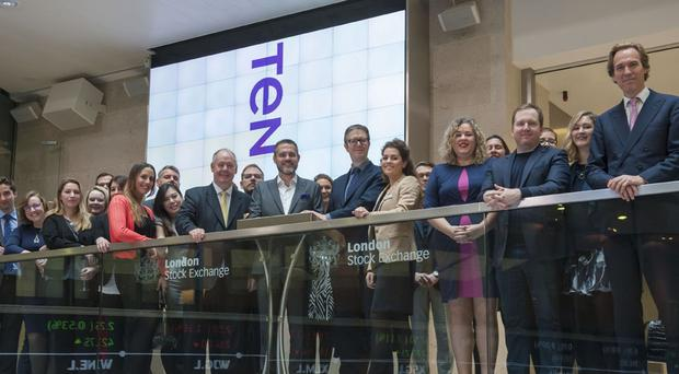 Ten Lifestyle Group floated on the London Stock Exchange earlier this year (Ten/PA)