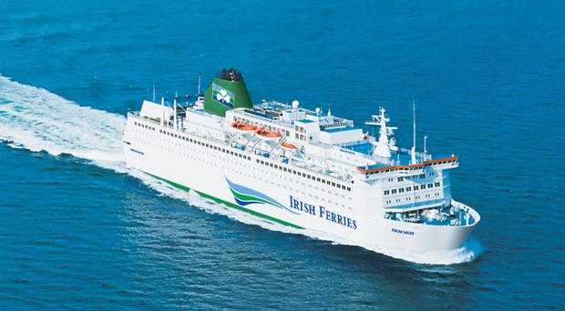 Irish Ferries' Oscar Wilde currently runs between Ireland and France