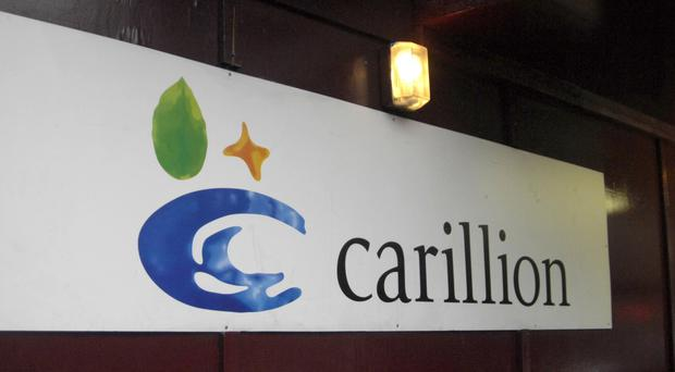 Carillion said it is co-operating fully with the FCA