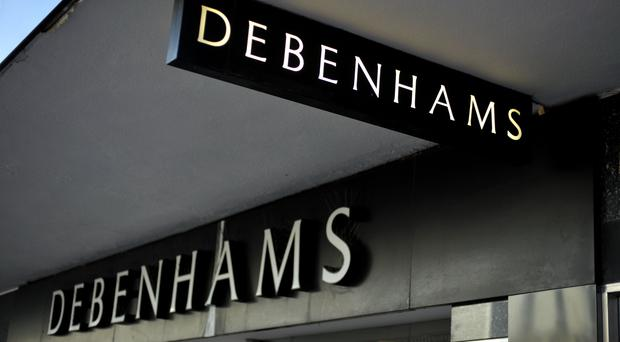 Debenhams saw shares slump after it warned over profits after being forced to slash prices to boost flagging festive sales (Tim Ireland/PA)
