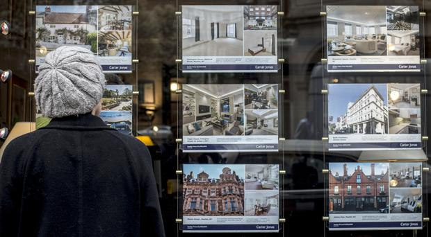 Halifax has unveiled its latest house price index (Lauren HurleyPA)