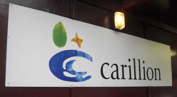 Carillion profit warning