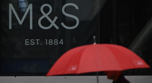 MandS saw shares fall after it revealed