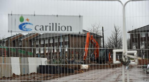 Midland Metropolitan Hospital, where construction work is being carried out by the firm (Joe Giddens/PA)