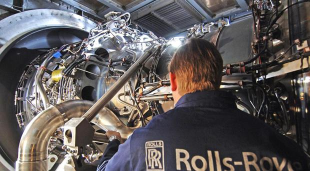 Rolls is considering selling its marine division (PA)