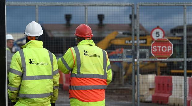 Payments to Carillion executives have ceased