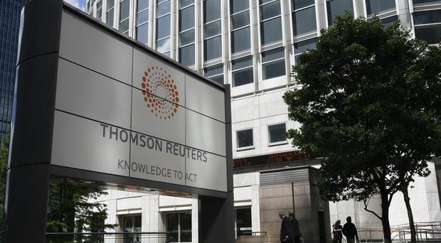 Thomson Reuters refused to reveal the finer details of the proposed deal (Johnny Green/PA)