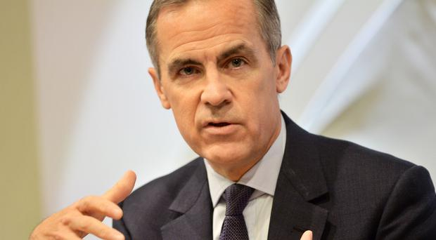 Mark Carney dismissed criticisms that the Bank had been too pessimistic on the economy (Victoria Jones/PA)