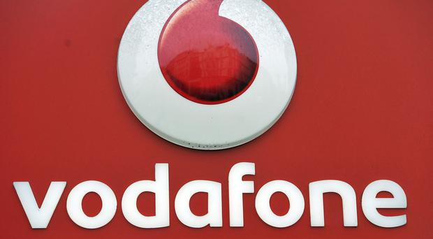 Vodafone's revenue falls but demand for data offers hope