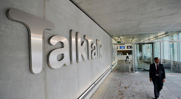 A picture of TalkTalk Headquarters in west London (PA)