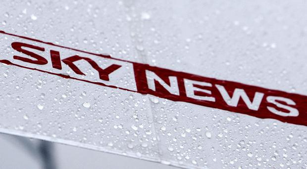 The Sky News logo (David Jones/PA)