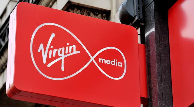 Virgin Media said its 'innovative' 36-month Freestyle contracts and 4G offers helped boost the number of non-prepaid mobile subscriptions (Nick Ansell/PA)