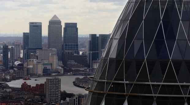 The City is bracing for a week of annual results from Britain's biggest banks (Chris Radburn/PA)