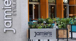 A Jamie's Italian, the restaurant chain founded and majority-owned by celebrity chef Jamie Oliver (PA)