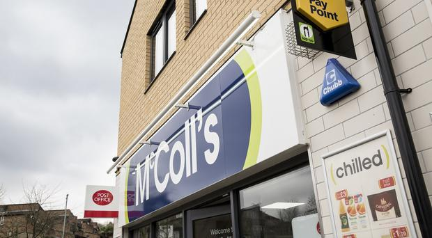 McColl's shares dented by Palmer & Harvey demise