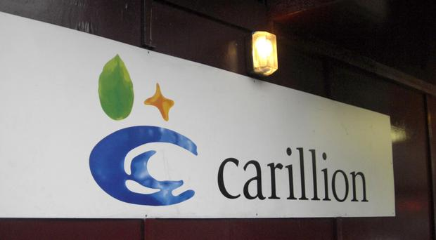 Contracts carried out for the Housing Executive by collapsed construction giant Carillion have been sold to a French firm, it has emerged