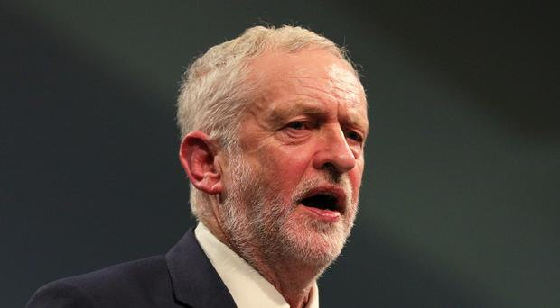 Jeremy Corbyn warned that Britain's economy cannot be rebalanced without taking on the power of the financial sector (Aaron Chown/PA)