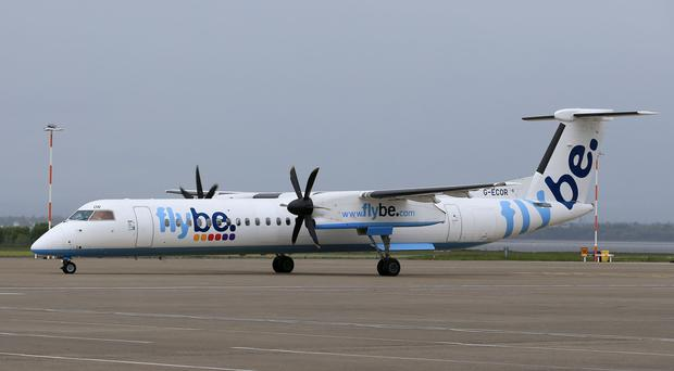 Regional airline Flybe faces a potential takeover swoop from Stobart Group (Tim Goode/PA)