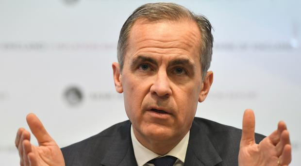 Bank of England Governor Mark Carney has called for regulation for cryptocurrencies (PA)