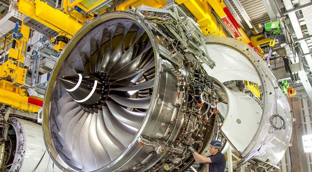 Rolls Royce was the best performing stock on the FTSE 100 (PA)
