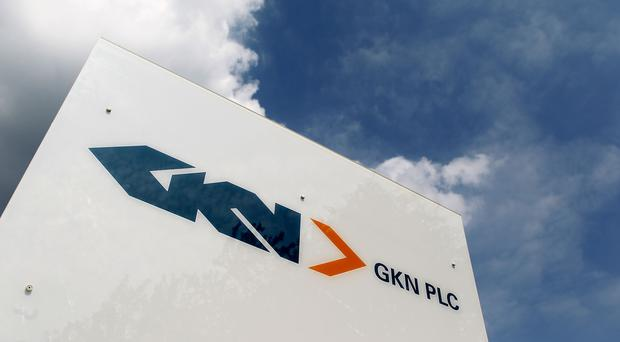 GKN shares price increase