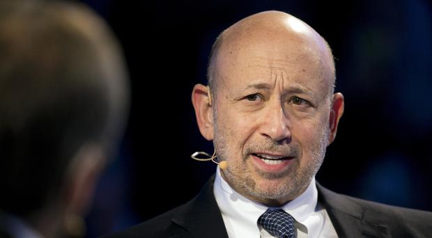 Goldman Sachs chairman and CEO Lloyd Blankfein speaks at the Bloomberg Global Business Forum in New York. Blankfein is planning on retiring as soon as the end of this year, The Wall Street Journal is reporting (AP Photo/Mark Lennihan, File)
