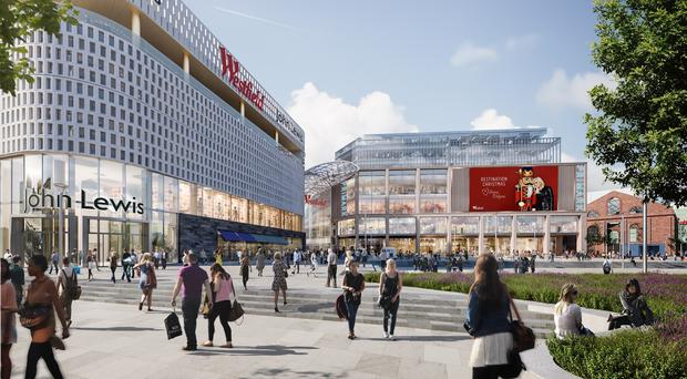 Westfield London expansion (Westfield London/PA)