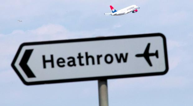 Linking Heathrow and London Waterloo by rail is estimated to cost up to £1.6 billion (Daniel Leal-Olivas/PA)
