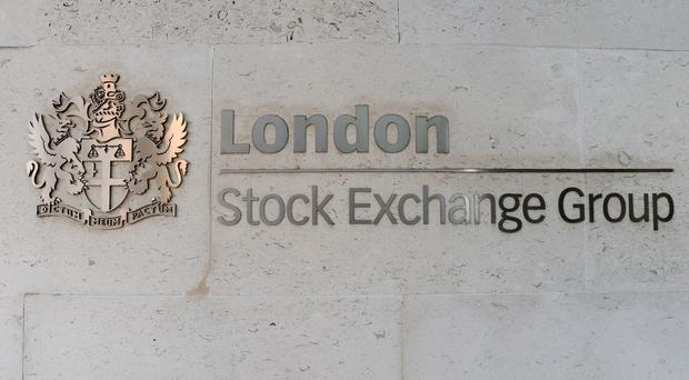 The FTSE 100 ended the day up (Nick Ansell/PA)