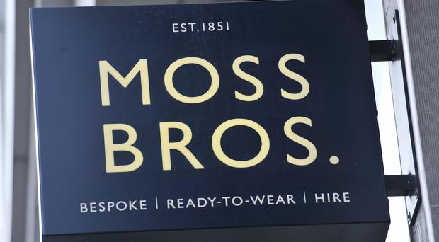 Suit retailer Moss Bros has laid bare the impact of stock shortages and