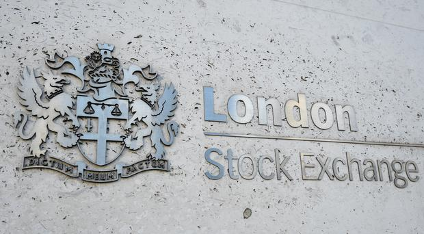 Shares in Shire soared 14%, or 430p to 3,500p (PA)