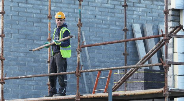 The latest economic data for the construction industry has been released (PA)