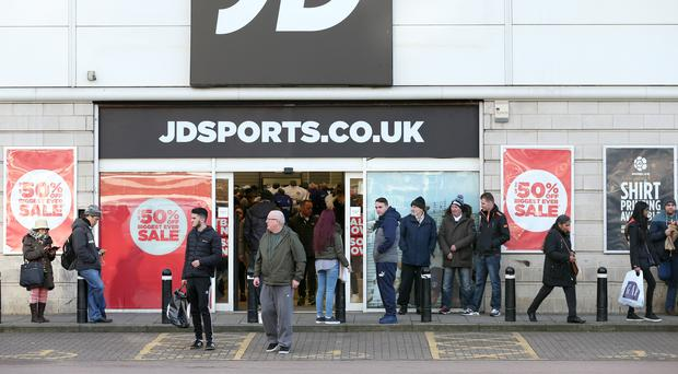 JD Sports sprints ahead on demand for trainers, track trousers