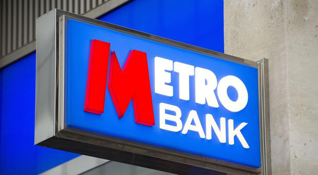 Metro Bank is set to meet Royal London Asset Management in June (Laura Lean/PA)
