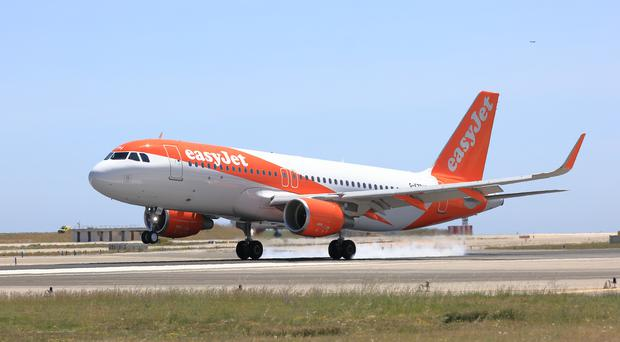 Easyjet profits flying high as rivals are grounded